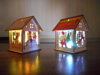 クリスマスハウス木工キット2.JPG