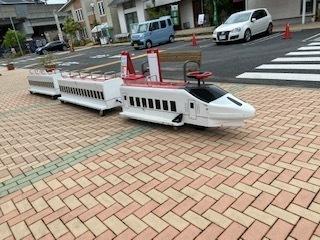 住宅展示場 乗り物 新幹線ロードトレイン.jpeg